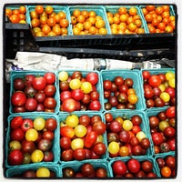 Photo taken at Jackson Heights Greenmarket by Amy E. on 8/5/2012
