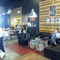 Photo taken at Cartel Coffee Lab by Maral T. on 2/22/2012