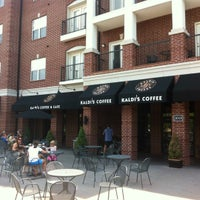 Photo taken at Kaldi's Coffee House by Josh F. on 7/8/2012