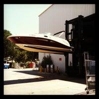 Photo taken at Skull Creek Boathouse by Jennifer on 8/25/2012
