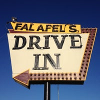 Photo taken at Falafel's Drive-In by Eric C. on 9/1/2012