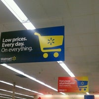 Photo taken at Walmart by Angelica H. on 9/5/2012