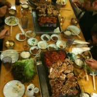 Photo taken at Sam Won BBQ House by Chris K. on 3/3/2012