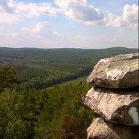 Снимок сделан в Скалы «Чертово Городище» пользователем angstogram 8/21/2012