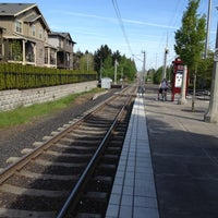 Photo taken at TriMet Quatama/NW 205th Ave MAX Station by Paul A. on 5/7/2012
