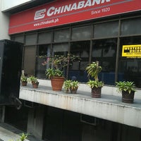 Photo taken at Chinabank by Ayan D. on 2/17/2012