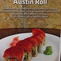 Photo taken at Sushi Zushi by Bob W. on 6/27/2012