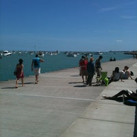 Photo taken at Lake Michigan Steps by Shag A. on 8/18/2012