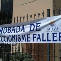 Photo taken at Junta Central Fallera by Malalt d. on 6/16/2012