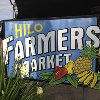 Photo taken at Hilo Farmers Market by Kimo C. on 6/16/2012