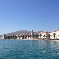 Photo taken at Trogirska riva by Nadya N. on 9/9/2012