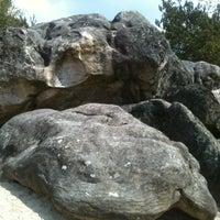 Photo taken at Rocher du Cul du Chien by Melanie M. on 4/14/2012