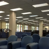 Photo taken at UMS Library by Umar C. on 4/4/2012