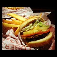 Photo taken at Red Robin Gourmet Burgers by Jacob B. on 4/21/2012