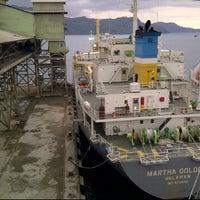 Photo taken at Packing Plant PTSP Teluk Bayur by Harland V. on 2/11/2012
