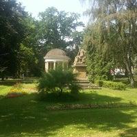 Photo taken at Palackého Gardens by Jaroslav M. on 8/22/2012