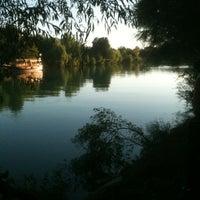 Photo taken at Manavgat Irmak Kenarı by Volkan on 8/25/2012