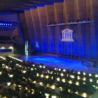 Photo taken at UNESCO by Sroun S. on 5/23/2012
