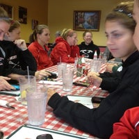 Photo taken at Simonetti's Pizza by Laura D. on 3/2/2012