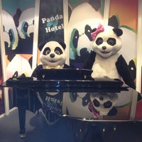 Photo taken at Panda Hotel by Dave L. on 3/28/2012