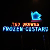 Photo taken at Ted Drewes Frozen Custard by Travis A. on 7/30/2012