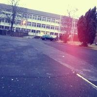 Photo taken at BS Büdingen (Berufliche Schule des Wetteraukreises) by Andy H. on 2/27/2012