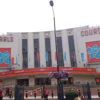 Photo taken at Earls Court Exhibition Centre by Carl K. on 7/30/2012