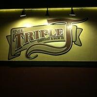 Photo taken at Triple J Chophouse by Danny H. on 2/10/2012