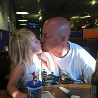 Photo taken at Joes New York Pizza by Katy on 7/26/2012