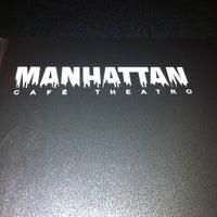 Photo taken at Manhattan Café Theatro by J Geraldo L. on 2/25/2012