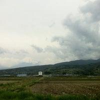 Photo taken at 東海道53次 原 朝之富士 by osquare on 4/30/2012