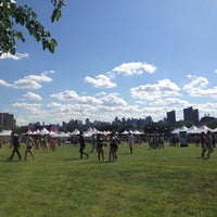 Photo taken at Randall's Island by Tessa N. on 6/24/2012
