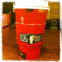 Photo taken at Dazbog Coffee by Natasha R. on 4/10/2012