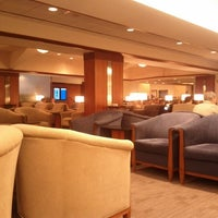 Photo taken at Delta Sky Club by Todd L. on 8/8/2012