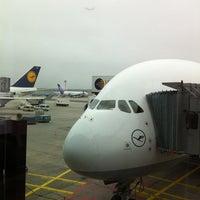 Photo taken at Lufthansa Flight LH 462 by jensdenis on 3/3/2012