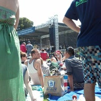 Photo taken at Symphony In the Park at Dolores Park by Jaime R. on 7/22/2012