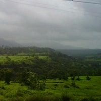 Photo taken at Igatpuri Railway Station by Karthik N. on 8/22/2012