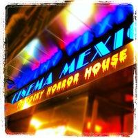Photo taken at Cinema Mexico by Antonio M. on 4/20/2012