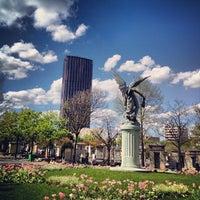 Photo taken at Montparnasse Cemetery by emmanuel e. on 5/1/2012