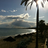 Photo taken at Cappuccino Marbella by Juampe C. on 4/15/2012