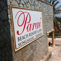 Photo taken at Parai Beach Resort & Spa by Meilisa S. on 9/13/2012
