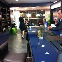 Photo taken at Lounge HSBC Premier by Daniel G. on 4/24/2012