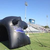 Photo taken at Don Floyd Memorial Stadium by Melissa C. on 9/1/2012