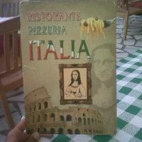 Foto tomada en Pizzeria Italia por Javi B. el 7/23/2012