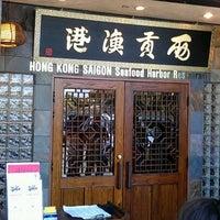 Photo taken at Hong Kong Saigon Seafood Harbor Restaurant by Drew M. on 7/14/2012