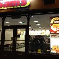 Photo taken at Sam's Chicken by Jon B. on 9/7/2012