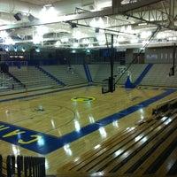 Photo taken at CHS Varsity Gym by Matt B. on 3/3/2012