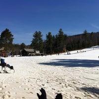 Photo taken at Cranmore Mountain Resort by Nic B. on 3/18/2012