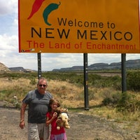 Photo taken at Arizona/New Mexico State Line by Richard H. on 7/14/2012