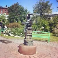 Снимок сделан в Университетский дворик пользователем Mari M. 6/18/2012